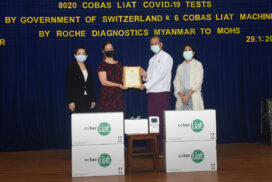 MoHS receives COVID-19 medical devices from Swiss agency