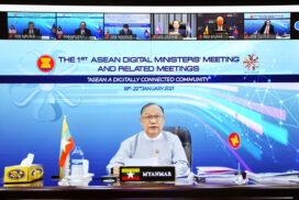 Union Minister U Thant Sin Maung joins Asean Digital Ministers' Meeting
