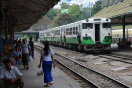 Yangon circular train to increase daily runs from 12 to 57