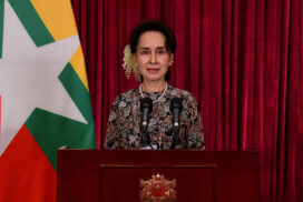 State Counsellor delivers speech on updated situations of COVID-19 containment measures
