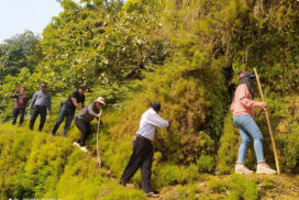 Dotthtawadi River inspected to explore new tourist destination in Nawnghkio Tsp
