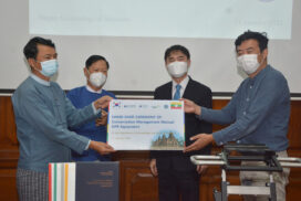 Handover ceremony of Conservation Management Manual for Bagan temples held
