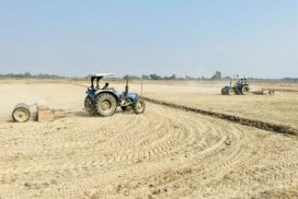 Bago Region modernizes farmlamd in Yedashe Tsp, hopes for umcompletion of project by summer