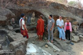 200-year-old Buddha statues near mount Sakyar, Natogyi