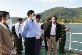 Confiscated lands returned to 348 farmers in Myeik by issuing temporary permits