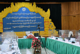 VP U Myint Swe holds meeting on completion of renovation works of Bagan, Nyaung-U temples