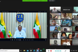 Federation of Myanmar Engineering Societies holds annual meeting online