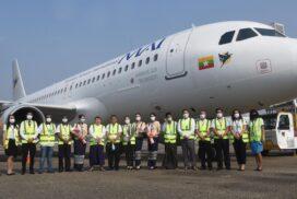 Airbus A320-214 XY-ALJ joins MAI fleet
