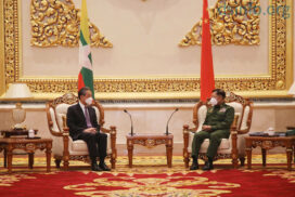 Senior General receives Chinese State Councilor and Foreign Minister