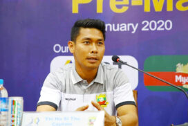 Shan United Goalie Thiha Sithu to take player-cum-manager position