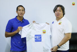 Star player Than Paing joins Shan United Football Club