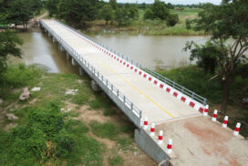 Ngar Kyee reinforced-concrete bridge opened in Monyo Township