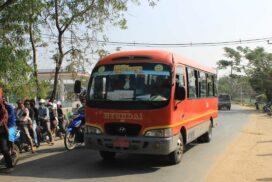 Dala-Pyapon highway express reopens at Dala bus terminal