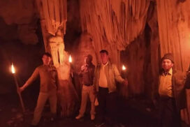 Htan Pyinnyar cave inspected to explore new tourism destination in Nawnghkio Tsp