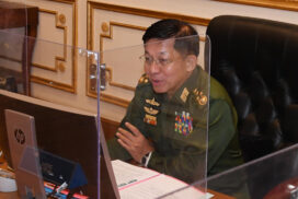Senior General Min Aung Hlaing discusses security, stability and rule of law measures