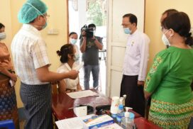 MoHS continues COVID-19 vaccination to ministry officials and civilians