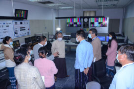 MoI Union Minister inspects works of MRTV