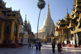 Shwedagon Pagoda allows around 3,000 pilgrims per day