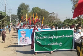 Thousands show their support to Tatmadaw