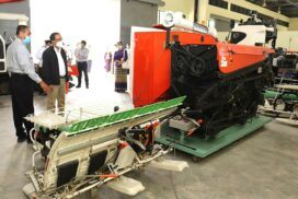 Departments integrate research and education for mechanized farming