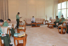 National Defence and Security Council of Republic of the Union of Myanmar holds meeting