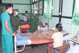Civilian doctors join military hospitals