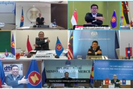 39th Meeting of High-level Task Force on ASEAN Economic Integration held via videoconferencing