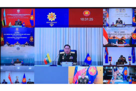 11th ASEAN Military Operation Meeting held online
