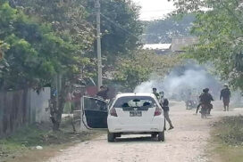 Security forces attacked by car in Mohnyin