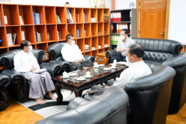 Union Minister discusses tourism development in Mandalay region