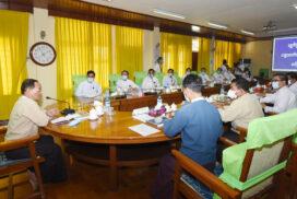 Union Minister U Ko Ko pays homage to Shwedagon, Gabar Aye pagodas