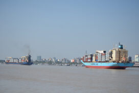Maritime trade decreases by $2.28 bln in 2020-2021FY