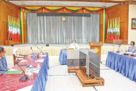 MoHS discusses resumption of central-level hospital operations in Yangon, Nay Pyi Taw