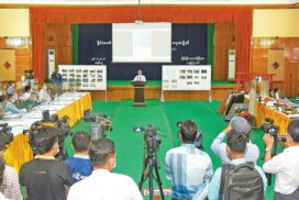 Information Team of State Administration Council meets media at 3/2021 press conference