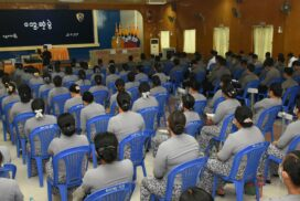 Vice-Senior General Soe Win comforts military personnel, police in Mandalay Region