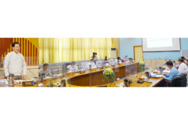 Union civil service board holds meeting (1/2021)