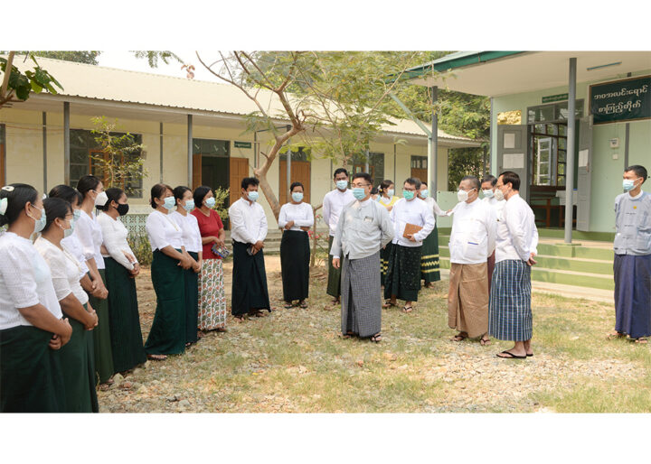 School Reopen in Nay Pyi Taw 72