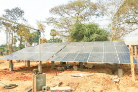 Solar water supply system completely implemented in Magway
