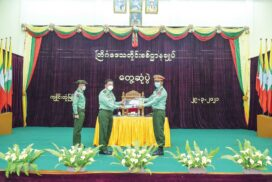 Tatmadaw pledges to continuously strengthen multiparty democracy entire people aspire: Senior General