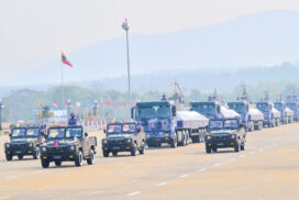 Parade of 76th Anniversary Armed Forces Day held;  State Administration Council Chairman Commander-in-Chief of Defence Services Senior General Maha Thray Sithu Min Aung Hlaing delivers address