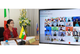 Central Bank deputy governor joins AFCDM+3 virtual meeting