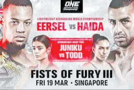 ONE Championship: Eersel to fight against Haida tonight
