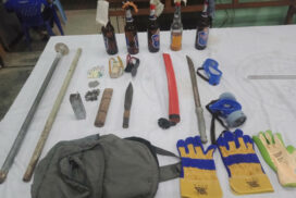 Two dead in Hline Township, 5 possessing riot equipment arrested in Bahan Township