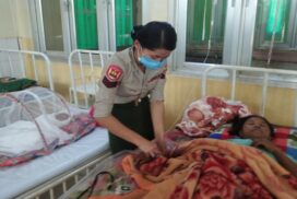 Military medical corps provide healthcare in township hospitals with no civilian doctors