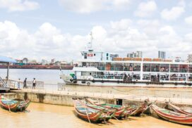 Pansodan-Dala ferry, Wahdan-Dala Z-craft schedules reduce routes in water festival