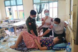 Tatmadaw medical teams provide healthcare to locals