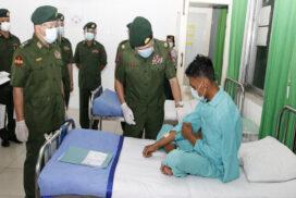 Military hospitals continue providing healthcare to civilians
