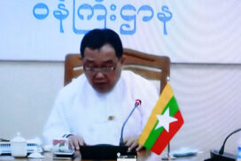 Myanmar delegation participates in 77th Session of UNESCAP
