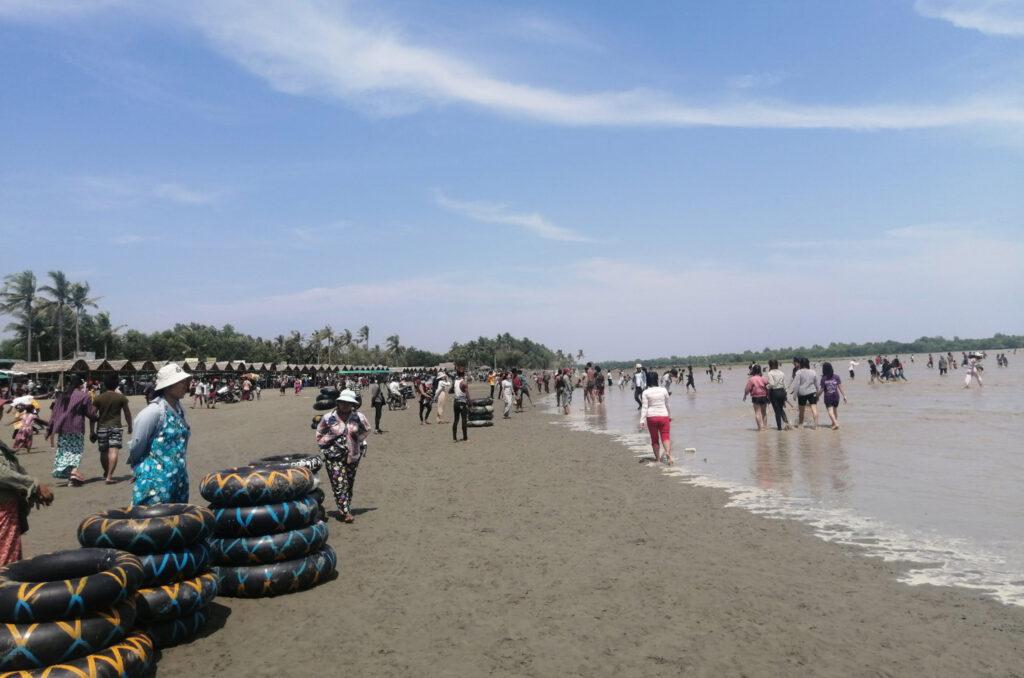 Sal Eain Tan beach, ideal spot to go on mini-breaks