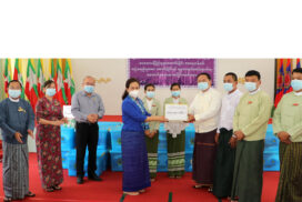 MoSWRR provides social pension to elderly, cash assistance to storm victims, disabled, Parahita, CSOs in Magway Region
